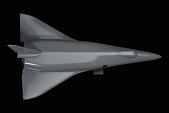 view Model, Space Shuttle, Delta-Wing High Cross-Range Orbiter Concept digital asset number 1