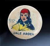 view Button, Dale Arden, Flash Gordon Character digital asset number 1