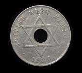 view Coin, George V Penny, British West Africa, Lindbergh digital asset number 1