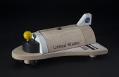 view Toy, Space Shuttle, Wooden digital asset number 1