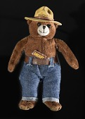view Toy, Smokey Bear plush, Space Flown digital asset number 1