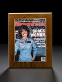 view Plaque, Newsweek, Space Woman Cover, Sally Ride digital asset number 1