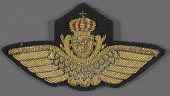 view Badge, Aviator, Royal Norwegian Navy digital asset number 1
