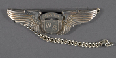 view Badge, Pilot, Women Airforce Service (WASP), Yates digital asset number 1