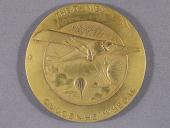 view Medal, Daniel Guggenheim Medal, Glenn L. Martin 1940 digital asset number 1