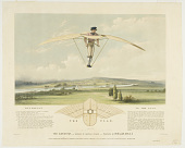 view The Aerostat,--Worked by Manual Power--Invented by W. Miller, M.R.C.S. digital asset number 1