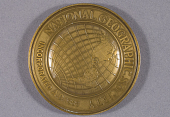 view Medal, National Geographic Society Special Gold Medal, Thomas C. Poulter digital asset number 1
