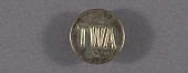 view Button, Flight Attendant, Transcontinental & Western Air Inc. (TWA) digital asset number 1