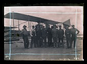 view Education, Schools, General, Curtiss Flying Schools (USA); Curtiss Model D; Kelly, George E. M.. [photograph] digital asset number 1
