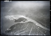 view Miscellaneous, Photography, Types of Images, Aerial Photography. [glass negative] digital asset number 1