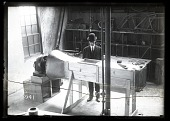 view Curtiss, General, Wind Tunnels And Wind Tunnel Models. [glass negative] digital asset number 1
