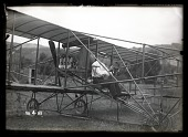 view Ely, Eugene B.; Curtiss, General, Aircraft. [glass negative] digital asset number 1