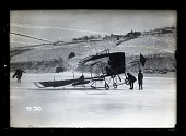 view Pfitzner Monoplane (1909); Safety, Accidents, General. [glass negative] digital asset number 1