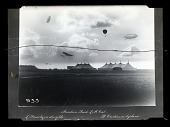 view 1908 Events, General; Lighter than Air (LTA), Airships, USA, Beachey (Lincoln), General; Curtiss, General, Aircraft. [glass negative] digital asset number 1