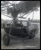 view Curtiss-Bleecker Helicopter; Bleecker, Maitland Barkelew. [photograph] digital asset number 1