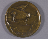 view Medal, Aeronautical Chamber of Commerce Medal, Adm. Richard Byrd digital asset number 1