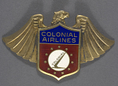 view Badge, Cap, Colonial Airlines digital asset number 1