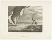 view The Perilous Situation of Major Money. When he fell into the sea with his Balloon on the 23 of July 1785 off the Coast of Yarmouth; was most providentially discover'd and taken up by the Argus Sloop after having remained in the water during five hours. digital asset number 1