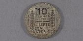 "view Coin, France, 10 Francs, Lockheed Sirius ""Tingmissartoq"", Lindbergh digital asset number 1"