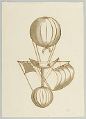 view Balloon with Gondola and Sails digital asset number 1
