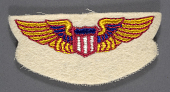 view Badge, War Training Service, Civil Aeronautic Administration digital asset number 1