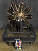 view Le Rhone Model JB, 9 Cylinder, Rotary Engine digital asset number 1