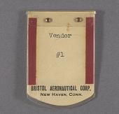 view Badge, Identification, Bristol Aeronautical Crop. digital asset number 1