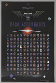 view Poster, 1998 Astronauts Picture digital asset number 1