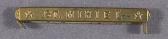 view Medal, Clasp, St. Mihiel, World War I Victory Medal digital asset number 1