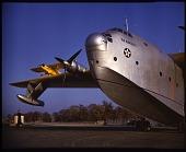 view Martin (Glenn L.) (JRM) XPB2M-1 Mars (Model 170); Piper J-3 Cub. [photograph] digital asset number 1