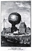 "view LTA, Balloons, France, Montgolfier Brothers, ""Animal Flight,"" Versailles (19 Sep 1783). [negative] digital asset number 1"
