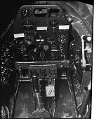 view Bell XP-59A Airacomet, Cockpit. [photograph] digital asset number 1