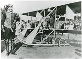 "view Wright (Co) Model EX ""Vin Fiz""; Rodgers, Calbraith Perry; Events, 1911 USA, Transcontinental Flight of the ""Vin Fiz"". [photograph] digital asset number 1"