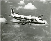 view Vickers (UK) VC2 Viscount Type 744; Airlines, Capital Airlines (USA). [photograph] digital asset number 1