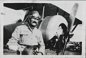 """view Thaw, William, II """"Bill""""; Military, France, French Air Service, Units, Escadrille Lafayette (124), Soubiran Collection. [photograph] digital asset number 1"""