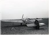 view Messerschmitt Bf 109 Family, Decoy; Equipment, Paints and Decals, Camouflage, Decoys, Aircraft. [photograph] digital asset number 1