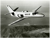 view Cessna 500 Citation (Fanjet 500, Citation I). [photograph] digital asset number 1