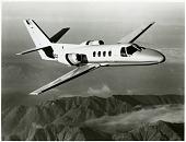 view Cessna 500 Citation (Fanjet 500, Citation I). [photograph] digital asset number 1