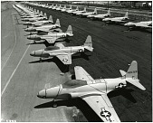 view Lockheed (F-80) P-80A Shooting Star. [photograph] digital asset number 1
