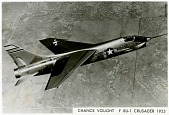 view Vought (F-8A) F8U-1 Crusader. [photograph] digital asset number 1