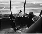 view Air Transport, Airports, USA, Virginia, Dulles International Airport; Airports, Control Towers. [photograph] digital asset number 1