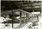 view Air Transport, Air Mail, General; Air Transport, Airports, USA, Pennsylvania, Bellefonte; Dayton Wright DH-4 Mailplane. [photograph] digital asset number 1