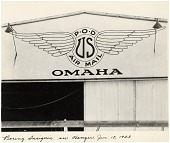 view Air Mail, General; Nebraska, General; Boeing Air Transport, Inc (USA). [photograph] digital asset number 1