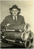 view Lawrence, Lovell, Jr; Reaction Motors, Inc (RMI) 6000C4 Liquid-Fuel Motor. [photograph] digital asset number 1