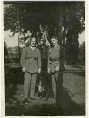 view Cowdin, Elliot Christopher, Jr; Prince, Norman (Sergeant); France, Lafayette Escadrille. [photograph] digital asset number 1