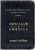 view Aviator's Certificate digital asset: Aviator's Certificate
