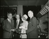 """view Museums, Smithsonian, NASM, General; Thenault, Georges; Dolan, Charles """"Carl"""" H., II. [photograph] digital asset number 1"""