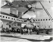 view Boeing Model 247D, NASM; Museums, SI, NAM / NASM, Exhibits, NASM, Air Transportation (102), 1976, Initial Installation. [photograph] digital asset number 1