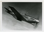 view North American P-51B Mustang, Modified. [photograph] digital asset number 1