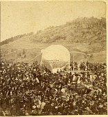 "view LTA, Balloons, USA, Wise (John), ""Ganymede"", St. Johnsbury, VT (1859). [photograph] digital asset number 1"